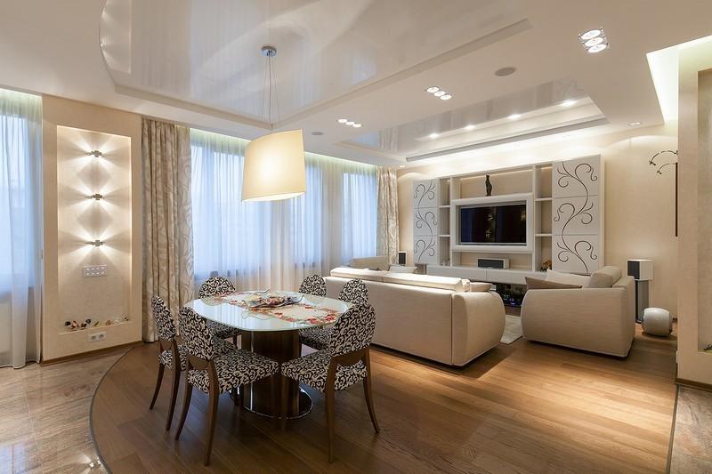 Дизайнерский ремонт квартир под ключ в Москве Фото и цены