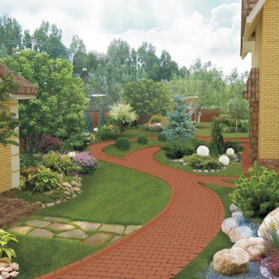 благоустройство территории и ландшафный дизайн от компании город мастеров
