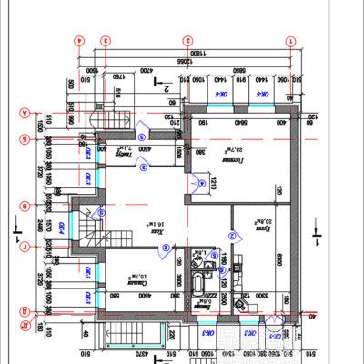 план здания от компании город мастеров