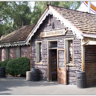 Дома из необычных строительных материалов