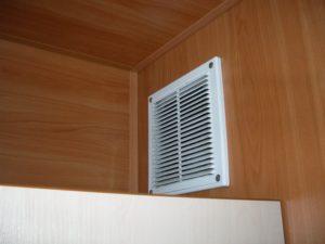 крепление вентиляционной решетки