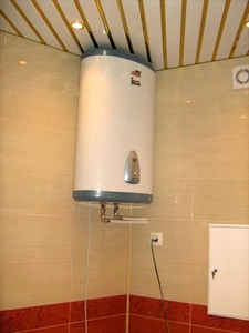 монтаж водонагревателя расценка